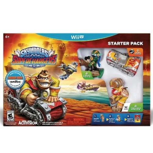 Skylanders SuperChargers Starter Pack - Wii U [Disc, Starter Pack, Nintendo Wii U]