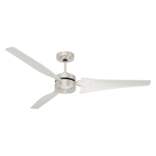 Emerson CF765BS Ceiling Fan with 4 Speed Wall Control and 60-Inch Blades, Brushed Steel Finish [Brushed Steel]