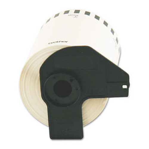 Brother Continuous Length Shipping Label Tape for QL-1050 4in x 100ft Roll White