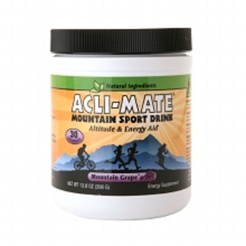 Acli-Mate Mountain Sport Drink Altitude & Energy Aid Grape