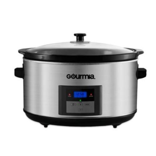 Gourmia SlowSmart Express 8.5 qt. Digital Programmable Slow Cooker