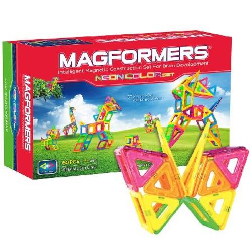 Magformers 60-Piece Neon Set