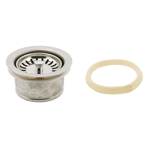 Prime-Line Garbage Disposal Flange Deep with Strainer Basket 3-1/2 in. Chrome with Putty