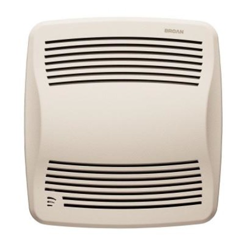 Broan QTX Series Very Quiet 110 CFM Ceiling Humidity Sensing Bath Fan, ENERGY STAR Qualified