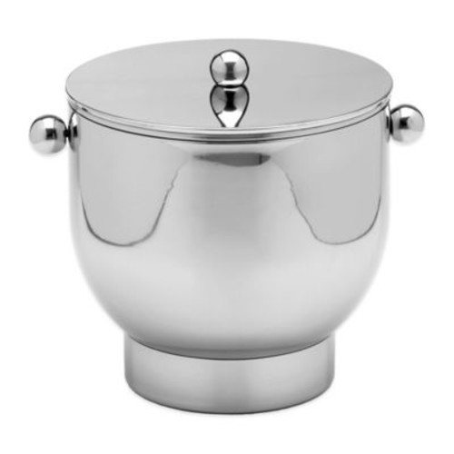 Kraftware Forme Polished Stainless Steel 3 qt. Ice Bucket