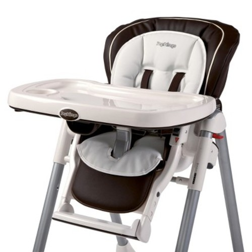Peg Perego High Chair Booster Cushion - White