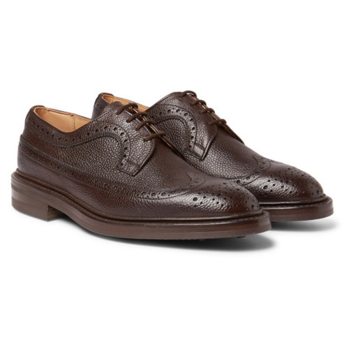 Tricker's - Fulton Full-Grain Leather Wingtip Brogues