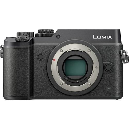 PANASONIC LUMIX GH4 Body 4K Mirrorless Camera, 16 Megapixels, 3 Inch Touch LCD, DMC-GH4KBODY (USA Black)