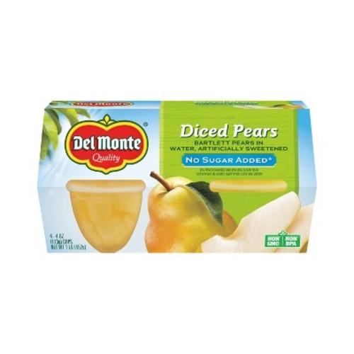 Del Monte Diced Pears - 4ct