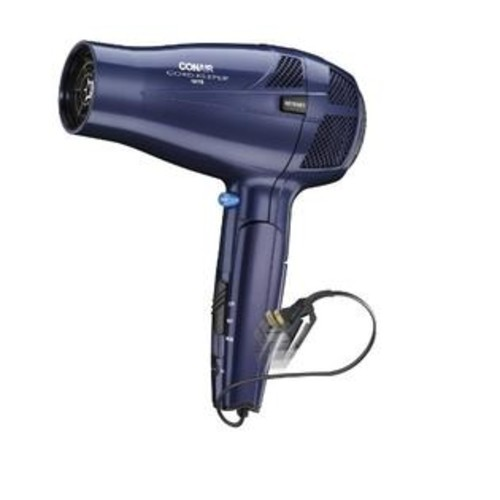 CONAIR 289NX 1,875-Watt Cord-Keeper Folding Dryer per EA