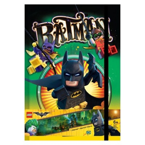 The LEGO Batman Movie Lined Journal - Batman & Joker