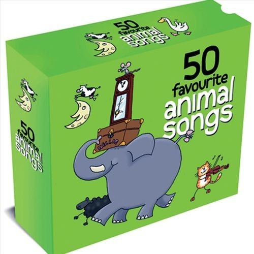 50 Favourite Animal Songs By Various Artists (Audio CD)