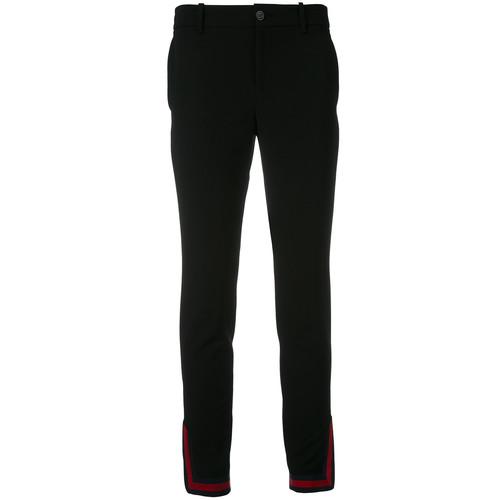 GUCCI Web Zipped Cuff Trousers