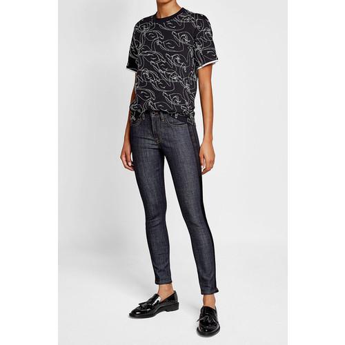 Slim Jeans with Tuxedo Stripe