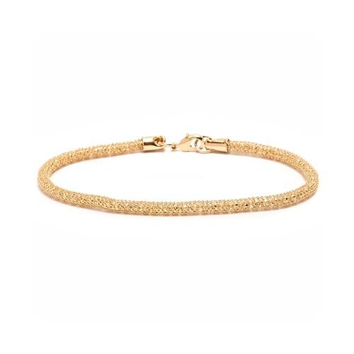 Gold Wire-Mesh Bracelet