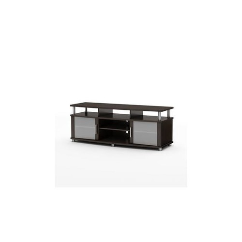 South Shore City Life Collection TV Stand Chocolate - 4219677