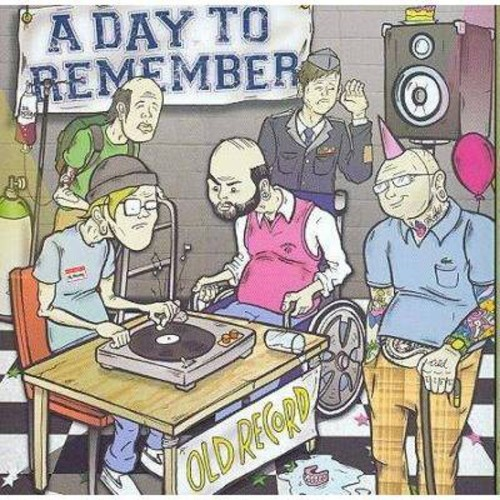 Day to remember - Old record (CD)