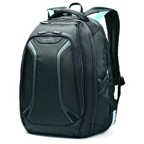 Samsonite Luggage Vizair Laptop Backpack [Black / Electric blue]