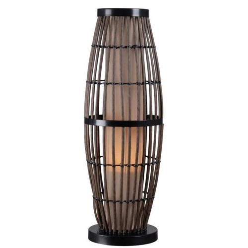 Kenroy Home Biscayne 31 in. Rattan Outdoor Table Lamp