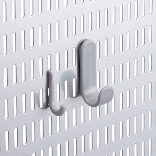 elfa utility Slim Hook Platinum Pkg/6