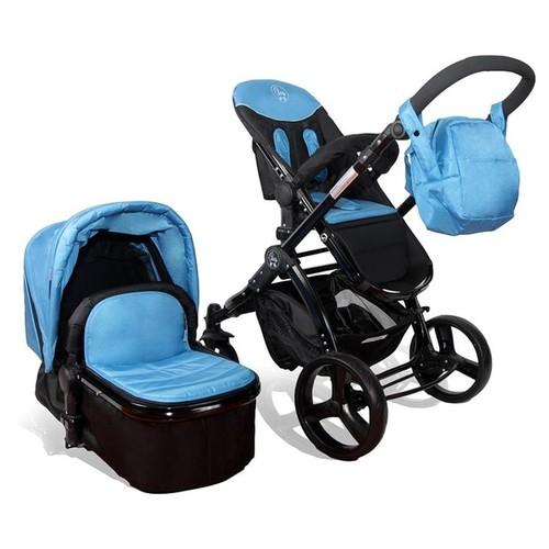 Elle Baby Travel System Deluxe [option : Orange with Black Frame]