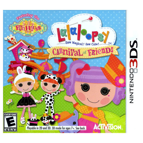 Lalaloopsy Carnival of Friends - Nintendo 3DS [Disc, Nintendo 3DS]