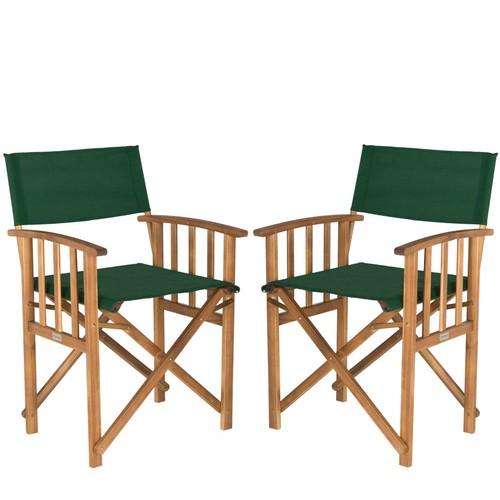 Safavieh Set of 2 Laguna Director Chairs