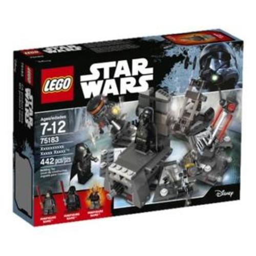 LEGO Darth Vader Transformation Star Wars