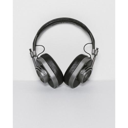 Master & Dynamic MH40 Over Ear Headphones in Gunmetal and Black