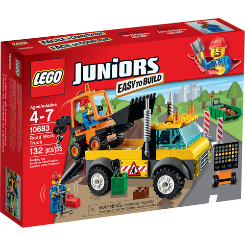 LEGO Juniors Road Work Truck, 10683