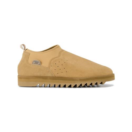 Sherpa slip on sneakers