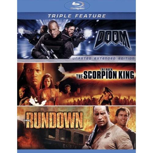 Doom/The Scorpion King/The Rundown [3 Discs] [Blu-ray]