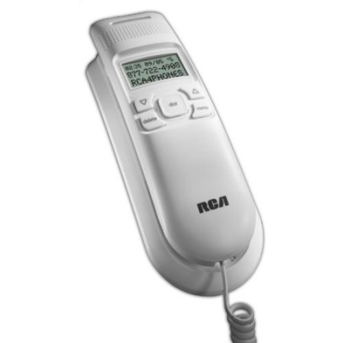 Rca 11241wtga White Corded Telephone Amplified Speakerphone