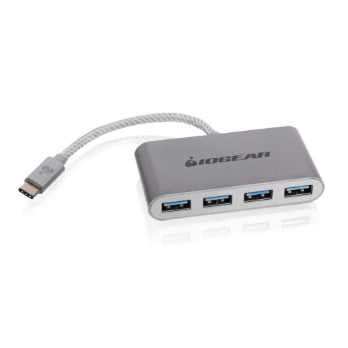 Iogear USB 3.1 Type-C port Hub - Connects up to four USB 3.0 devices. (GUH3C14)