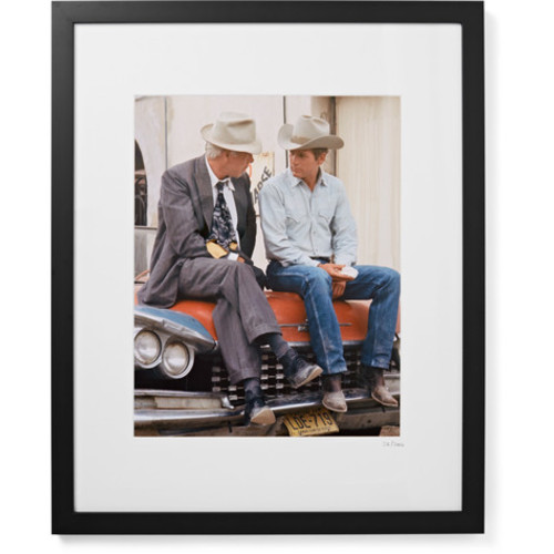 Sonic Editions - Framed Paul Newman and Lee Marvin Pocket Money Print, 17