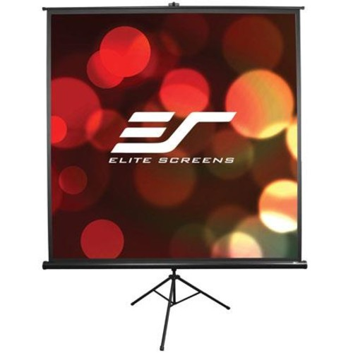 Elite Tripod Series T71NWS1 - Projection screen with tripod - 71 in ( 180 cm ) - 1:1 - MaxWhite - white