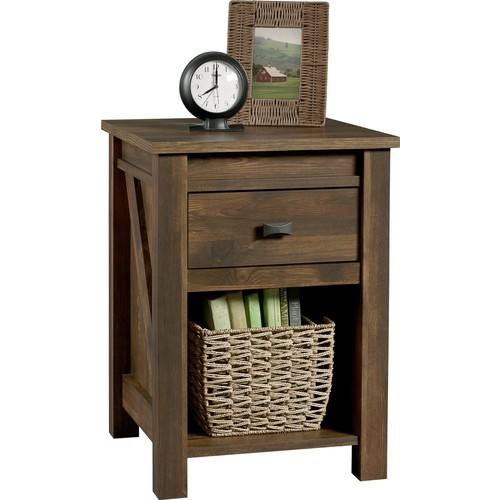 Dorel Farmington Century Barn Pine Night Stand