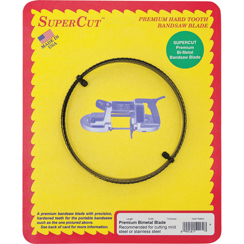 SuperCut Bi-Metal Replacement Band Saw Blade  52in.L x 1/2in.W x 812 Variable