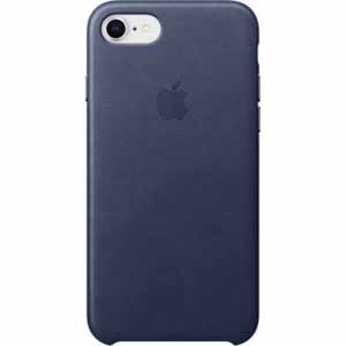 Apple Leather Case for iPhone 8/7 - Midnight Blue