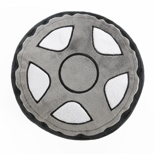 One Grace Place Teyo's Tires Tire Pillow, Black
