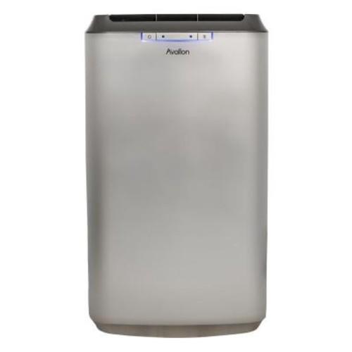 Avallon 12,000 BTU Dual Hose Portable Air Conditioner with Dehumidifying InvisiMist Smart Drain Technology