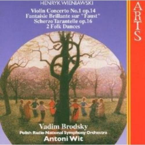 Henryk Wieniawski: Violin Concerto No. 1, etc. [CD]