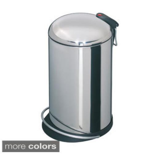 Hailo Trento Ellipse Trash Can - Stainless Steel