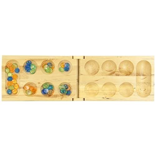 Mancala - Real Wood Folding Set [1]