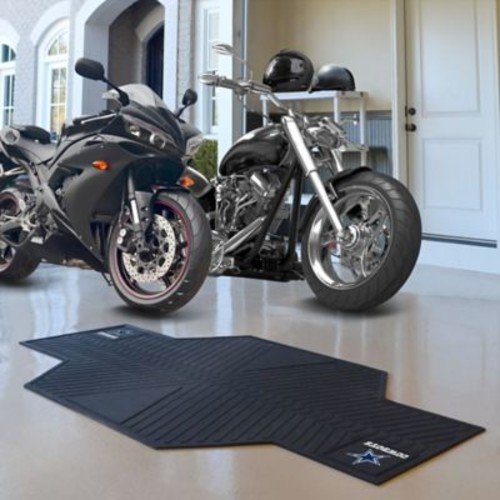 FANMATS NFL - Dallas Cowboys Motorcycle Utility Mat