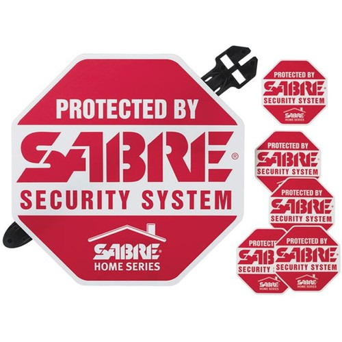 SABRE Yard Sign and Security Decals