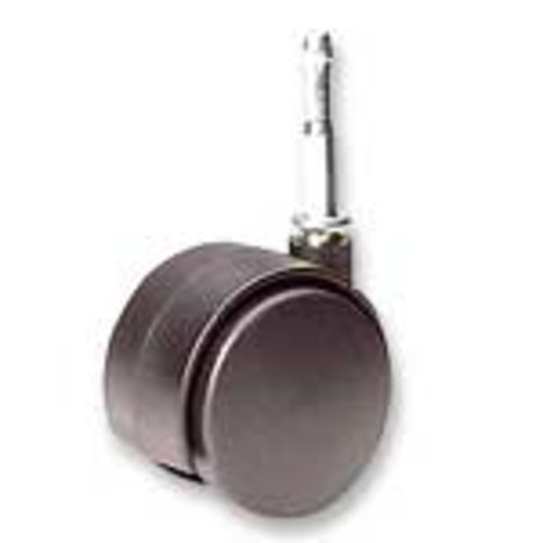 Office Depot Brand Get It Movin' Soft-Wheel Casters For Metal Bases On Hard Floors & Chairmats, Pack Of 2