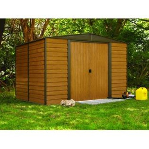 ShelterLogic Arrow Wr1012 Woodridge Eg Steel Storage Shed - 10 By 12-Feet