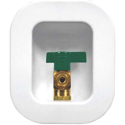Oatey 12K Ice Maker Outlet Box With Nails - 39130