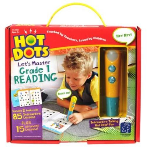 Educational Insights Hot Dots Jr. Let's Master Grade 1 Reading